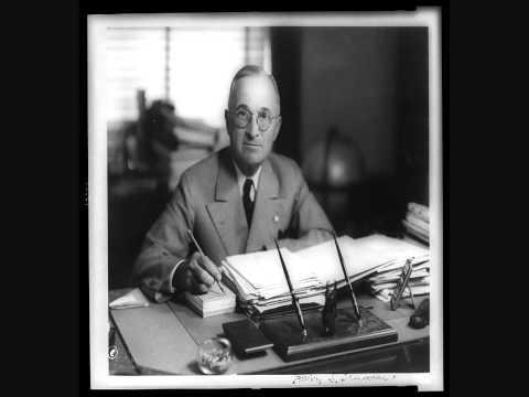 President Harry Truman Christmas Eve Address 1950