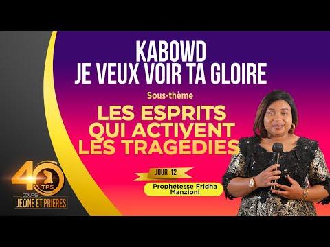 JEÛNE ET PRIÈRE I JOUR 12.2 PRIÈRE DÉTRUIRE LES ESPRITS QUI ACTIVENT DES TRAGÉDIES BY PROPH FRIDHA D