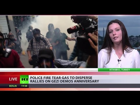 Istanbul Crackdown: Turkish police fire tear gas as protesters mark Gezi anniversary
