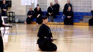 Terry, 2010 Iaido Taikai (competition), San Antonio, Texas