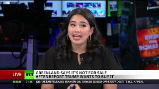 Trump wants to buy what? Greenland? Really?