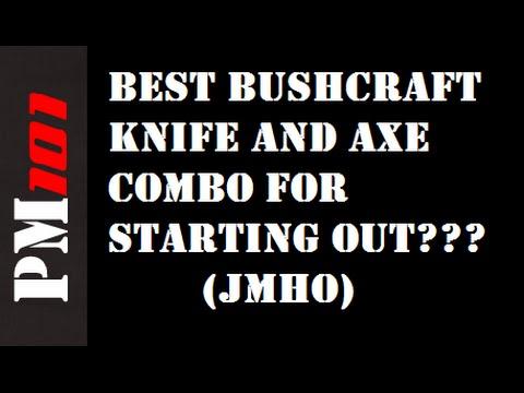 FAQ: Best BUDGET Bushcraft Knife and Axe Combo? (JMHO)  - Preparedmind101