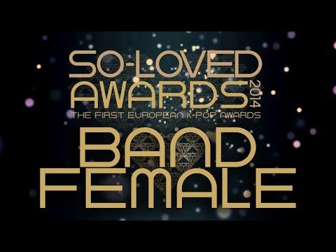 So-Loved Awards 2014 - Band Female