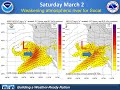 NWS San Diego - weather update - return to active weather