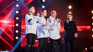 Time and Place's performance of Olly Murs' 'You Don't Know Love' - The X Factor Australia 2016