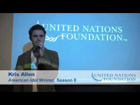 Kris Allen shares his experience visiting Haiti with the UN Foundation