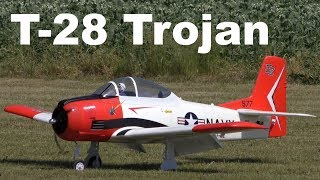 North American T-28 Trojan, scale RC airplane, 2017