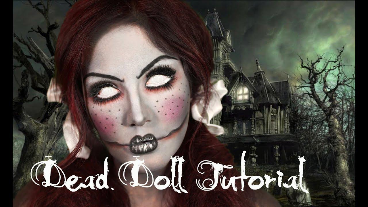 Dead Doll Halloween Makeup Ideas Dead Doll Makeup Tutorial