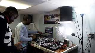 "Naija DJ ""DJ City And DJ emteezy"" freestyle Naija mix 2014"