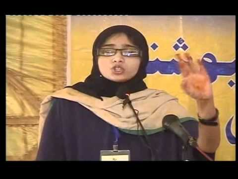 AYESHA SHAFI   all Karachi speech competition 2010 winner
