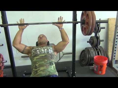Heavy Incline Bench Press Workout (5 x 2) Image 1