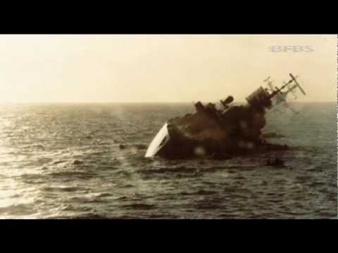 hms coventry sinking remembered 280512 youtube