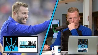 Why Los Angeles Rams offense needs to add more deception | Chris Simms Unbuttoned | NBC Sports