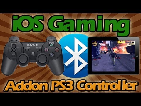 HOW TO CONNECT PS3 CONTROLLER TO iPAD AND PLAY ANY iOS GAME USING BluTrol (GTA III Gameplay)!!