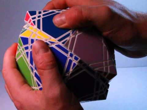 The Radio Fathom- Face Turning Icosahedron Twisty Puzzle - (Radiolarian 14)