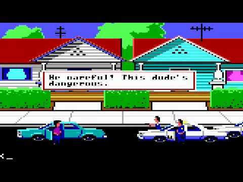 [DOS] What Not to Do in Police Quest I & Other Observations