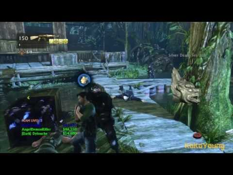 Uncharted 3 Mutiplayer - Co-op Adventure - Borneo (Crushing) [21/04/13]