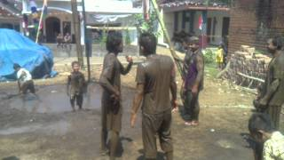 Lomba Panjat Pisang Dusun KANIGORO TIRTOMOYO Kab. Malang
