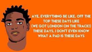 Kodak black roll in peace ft. xxxtentacion (Lyrics)