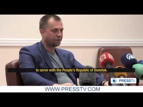 PressTV's INfocus: Donetsk people demand end to violence
