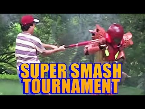 Real Life Super Smash Tournament