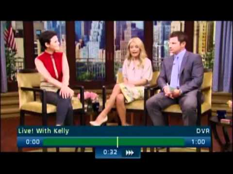 Once Upon A Time - Ginnifer Goodwin Appearance On Live With Kelly [May 10th 2012]