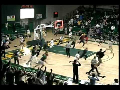 Thumbnail of video MITCHEL'S MIRACLE! BUZZER BEATER IN DOUBLE OVERTIME FROM BEYOND HALFCOURT!! Cal Poly Pomona Wins!