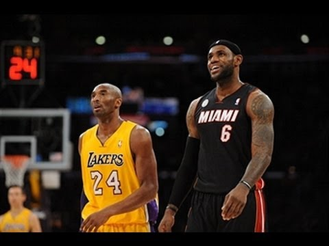 LeBron James Outduels Kobe Bryant in L.A.