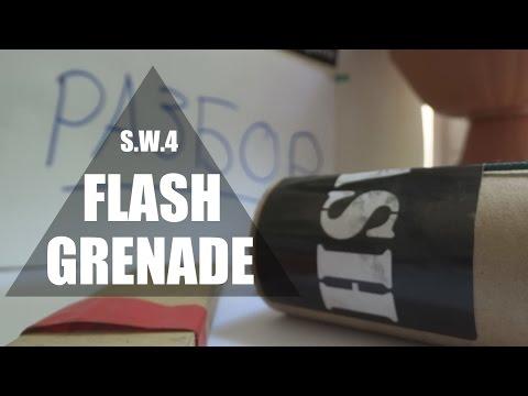 Flash Grenade \ Свето-дымовая граната для страйкбола