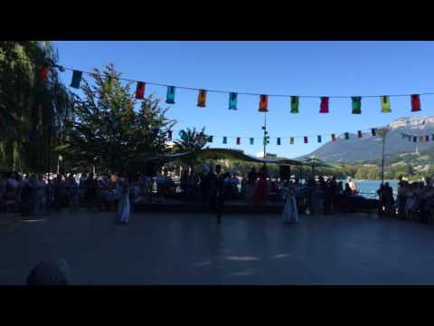 """Annecy 17/07/2016 Jardin de l'Europe Danse """"Mon Dagestan """""""