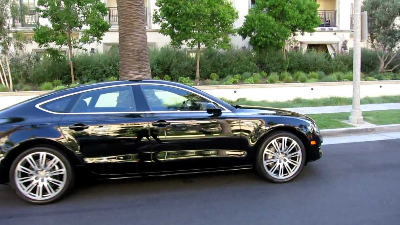 96 2012 Audi A7 Black Nougat Brown 2 480 Miles Sold In