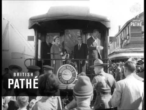 Royal Tour Of Whitehorse Yukon Canada (1959)