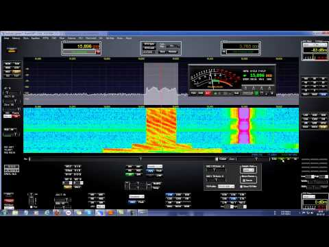 Experimental DRM station listen on 15.896 Khz
