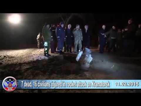 11 02 2015 Latest news of Ukraine, Kramatorsk, Russia, USA, Minsk Talks