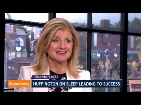 Arianna Huffington: Sleep More, Work Less, and Win!