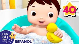 Canciones Infantiles   La Canción del Baño   Parte 2   Dibujos Animados   Little Baby Bum en Español