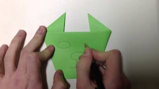 Faire Un Chat En Origami - Chat Origami