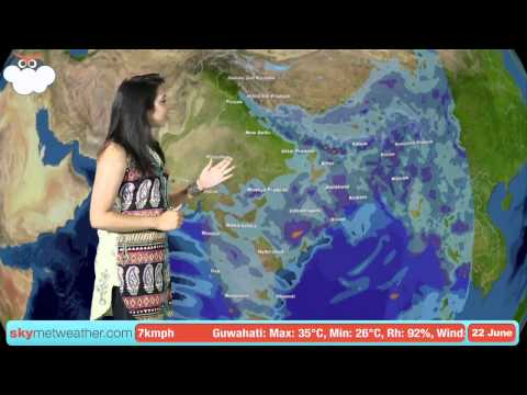 22 June Monsoon Update: Skymet Weather
