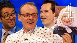 Sean Lock Being Absolutely SAVAGE About National Treasures?! | 8 Out of 10 Cats Does Countdown