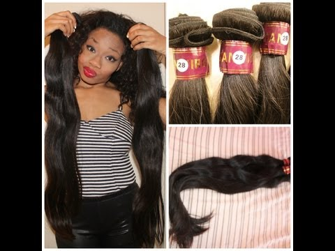 ALIEXPRESS INEXPENSIVE VIRGIN BRAZILIAN *XBL* STRAIGHT HAIR