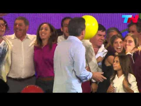 El inexplicable baile de Macri con música de Tan Bionica (Elecciones Paso Larreta)