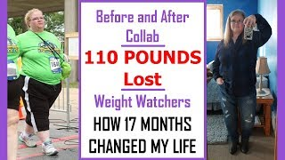 BEFORE AND AFTER COLLAB | Weight Loss Journey on Weight Watchers Freestyle