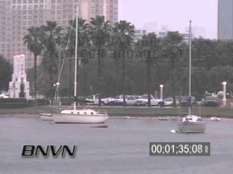 11/29/2005 Cold rain footage from Sarasota FL