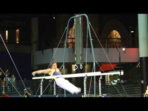 Sam Mikulak - Parallel Bars - 2012 Winter Cup Prelims