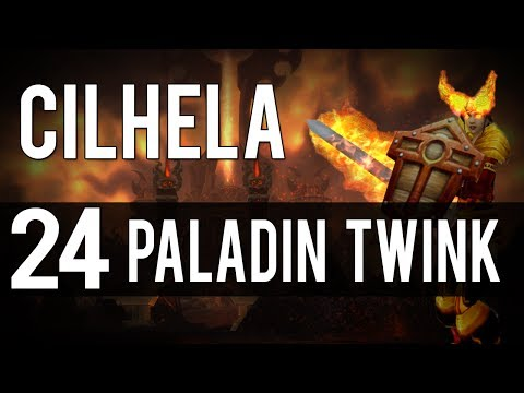 24 Twink [holy] Paladin Gearing + Battleground Footage. video