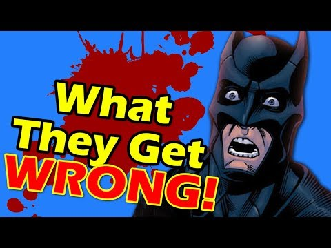 Stuff People Get WRONG About Batman!