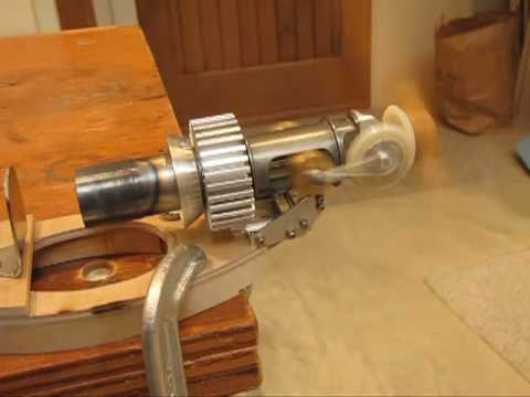Small Model Airplane Stirling Engine