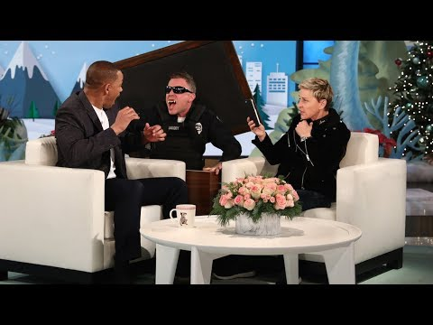 Ellen Scares Will Smith for the 'Gram | Will