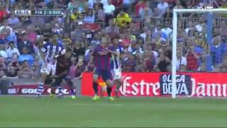 fcb vs real sociedad 2 0 magnifique but  pedro 9 5 2015