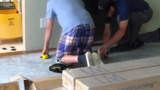 Installing Engineered Hardwood Floor: Preparing the Surface